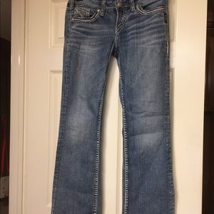 Silver brand jeans size 28/31